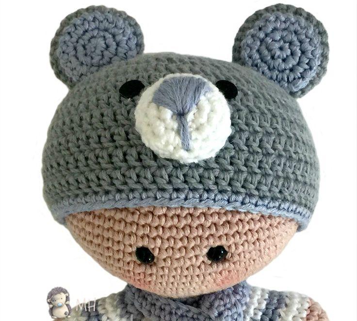 Excepcional Patrón Beanie Queda Atrás Crochet Imágenes - Manta de ...