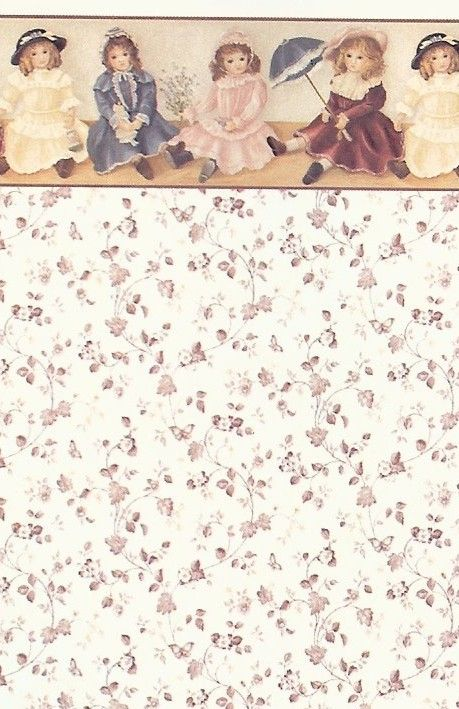 Image detail for -... using Yes wallpaper paste to install your dollhouse wallpaper