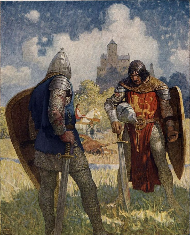 The Boy's King Arthur NC Wyeth - Google Search