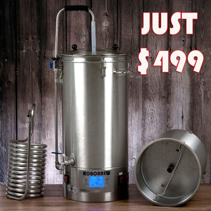 Robobrew Home Brewery #robobrew #robobrew #homebrewing #home #brewing #brewery