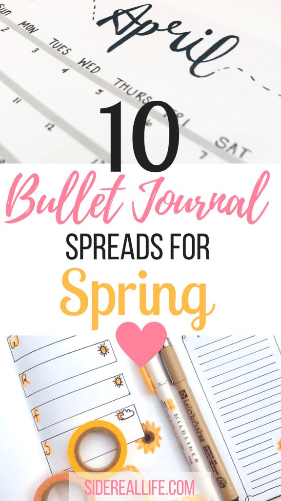 Looking for inspiration for your bullet journal? Check out these bullet journal spreads for spring! Use these spreads to help organize and plan your springtime activities. Plus, tips and tricks on how to start your bullet journal!
