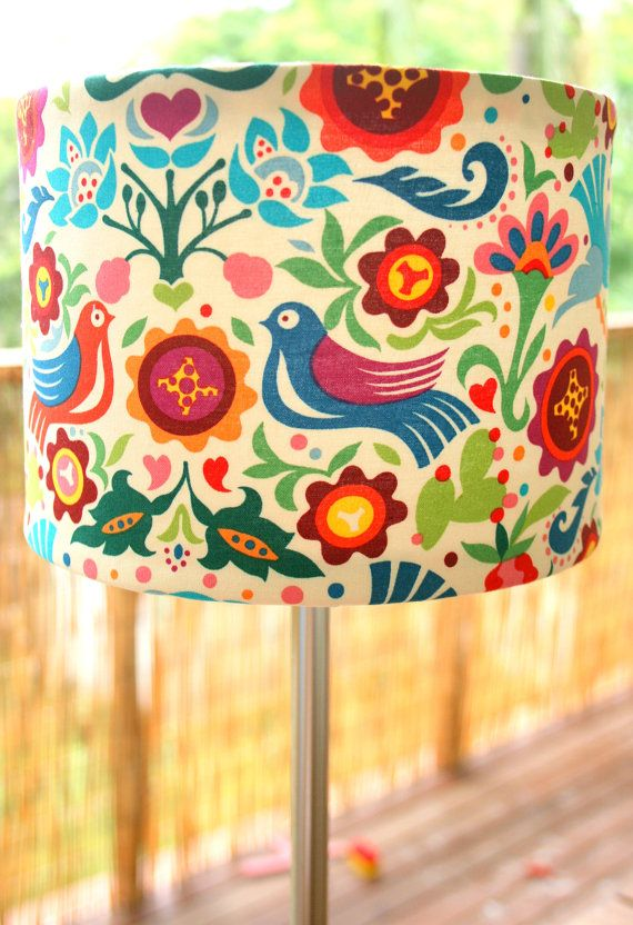 179 best fabric lampshades images on pinterest | fabric lampshade
