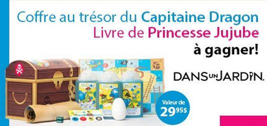 Gagnez le coffre au trésor du Capitaine Dragon - Quebec echantillons gratuits