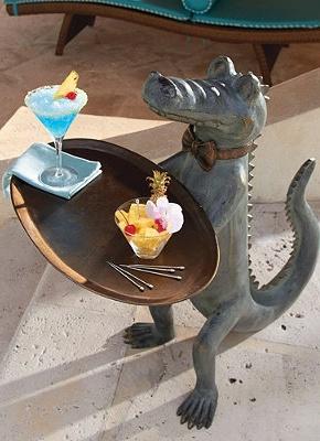 Belvedere Alligator Table Tables Sculpture And Alligators