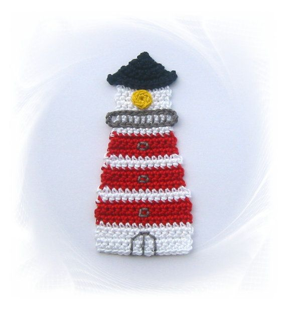 Lighthouse application crochet crochet maritime by SavoeDesign
