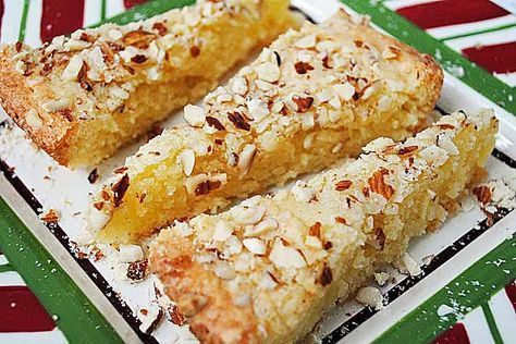 Swedish Almond Cake, need preparation it could stick to the pie plate, but delicious.