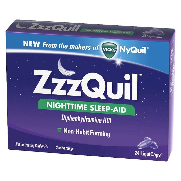 ZzzQuil Nighttime Sleep-Aid LiquiCaps - 24 Count