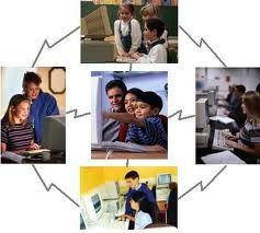 Los variados caminos y procesos del aprendizaje on-line implica el autoaprendizaje y el aprendizaje cooperativo