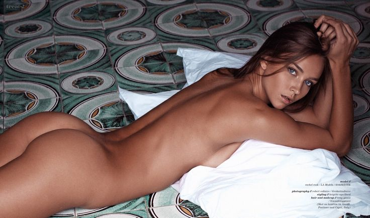 Model rachel cook bares nothing but a sun kissed tan for treats