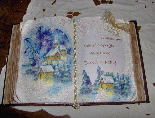 Libri scultura regalo per natale creazioni fai da te for Libri regalo