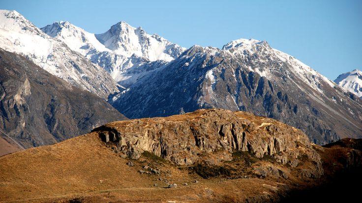"""Der Mount Sunday diente in """"Der Herr der Ringe"""" als Kulisse für Edoras."""