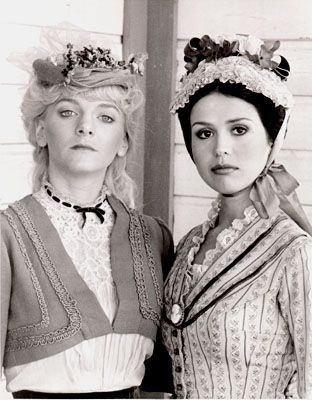 "Alison Arngrim and Marie Osmond in ""I married Wyatt Earp"