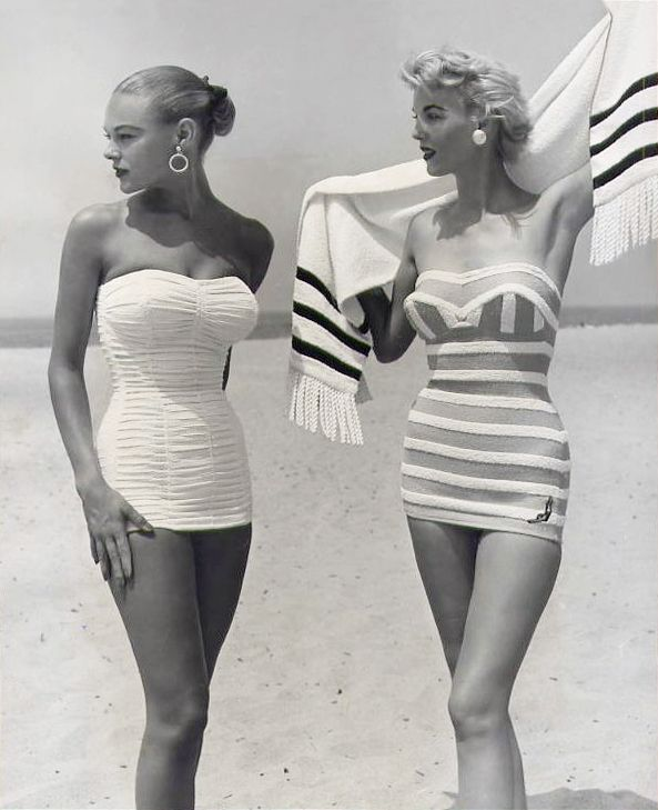 Swimsuits by Jantzen 1954.