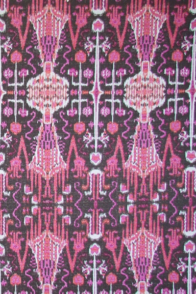 .. Pink Ikat rug ..: Pink Belt, Raspberries Contemporary, Color Palettes, Toss Pillows, Contemporary Draperi, Fabrics Suitabl, Future Rooms, Bombay Raspberries, Drapery Fabrics