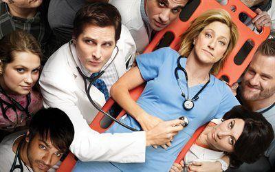 壁紙をダウンロードする 看護師のジャッキー, ユーモア, ドラマ, 価値観を自然に身に付けfalco, シリーズ