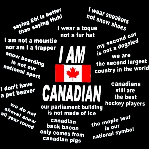 I Am Canadian - More quotes!