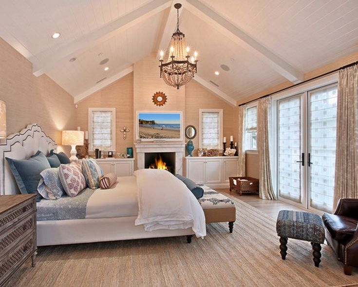 cathedral ceiling bedroom ideas