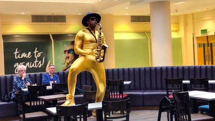 Black Epic Sax Guy