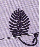 Les points d'épine en broderie - La Boutique du Tricot et des Loisirs Créatifs