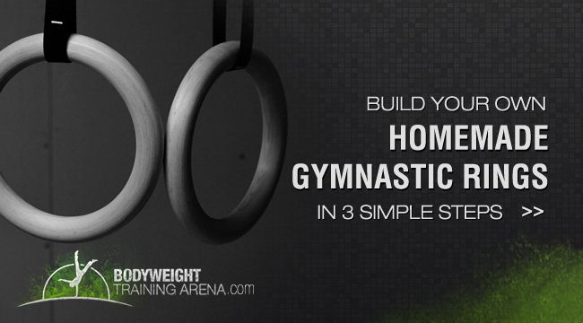 Gymnastic rings, Build your own and Calisthenics workout on Pinterest