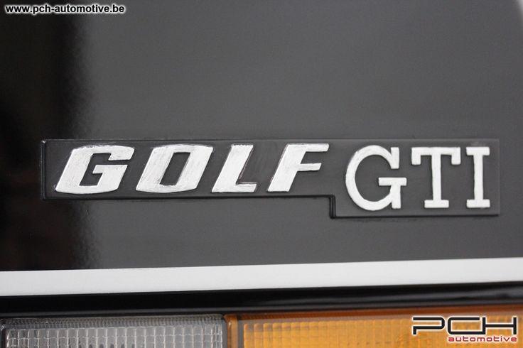 1981 VW Golf - GTI 1.6i 110cv   Classic Driver Market