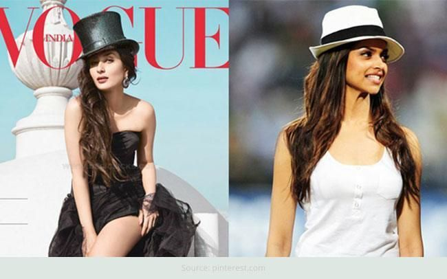 A trend that is slowly catching up amongst our #Bollywood ladies is that of wearing a hat. They are wearing it to important functions, to promotional events, #airports and #parties.