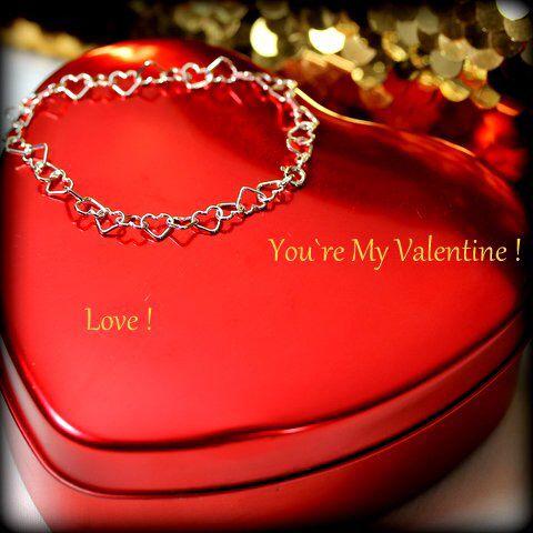Valentine bracelet in silver ❤️ www.stopandwearjewelry.com