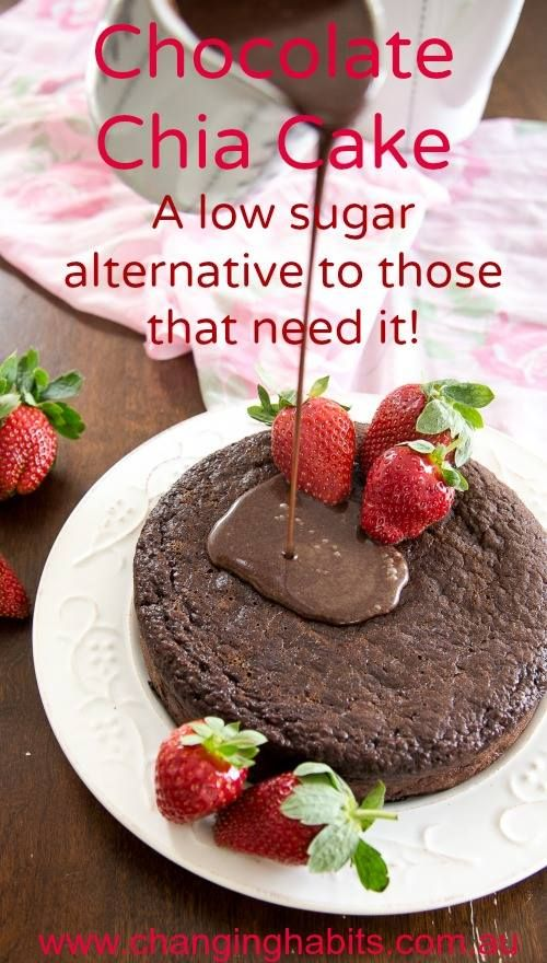 Chocolate Chia Cake with a twist...this is a favourite in many houses. It is a staple cake that can be enjoyed in many different varieties, like this version. Thanks to Tanya Hubbard for coming up with the base recipe, and of course foodies like us can never keep recipes as they originally were, so here it is with a Changing Habits twist.
