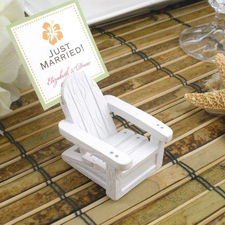 Beach Chair Wedding Favors