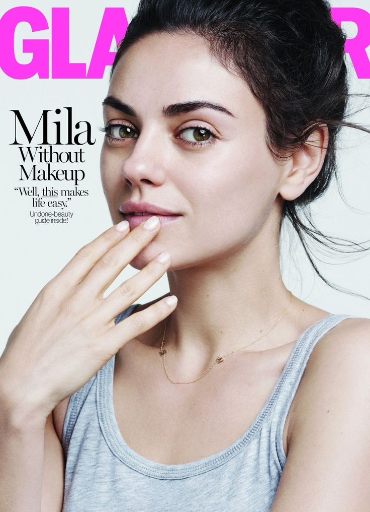 All hail Mila Kunis, the latest celebrity to hop on the makeup-free movement.