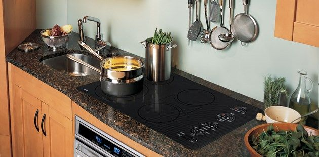 Countertop Flush With Stove : ... glass top which can be mounted flush to the countertop. Pretty slick