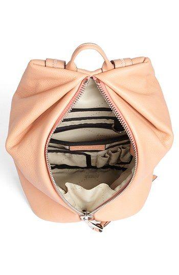spring bag - vertical zipper opening