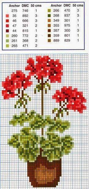 Вышивка, работ и чертежи puntocroce бесплатно: Вышивка крестиком бесплатно-экраны с цветами, очень легко