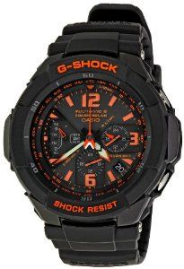 Casio Men's GW3000B-1ACR G-Shock Solar Power Black With Orange Dial Watch The size is reasonable and fits around the wrist perfectly. While seeing watch for the first time a phrase instantly …