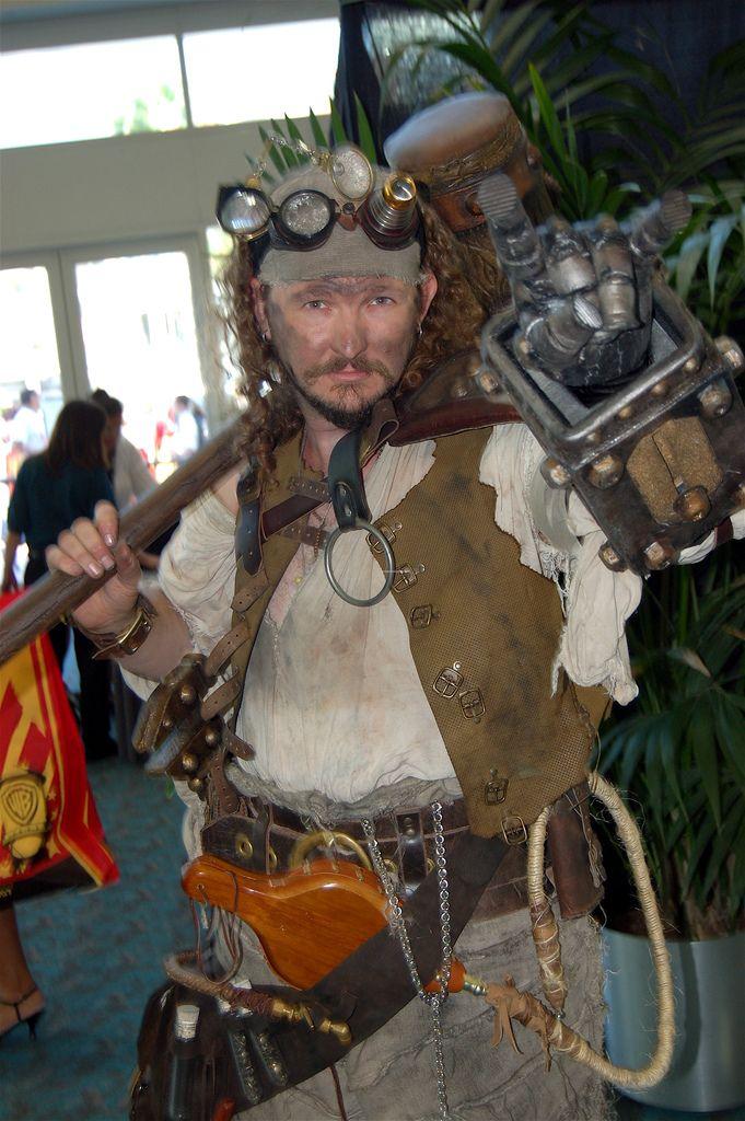 Comic Con 2007: Steampunk is F'N Metal
