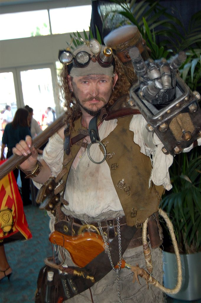 Comic Con 2007: Steampunk is F'N Metal