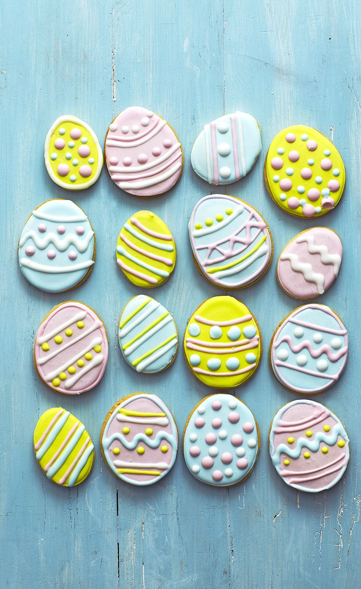 Get Creative And Have Fun Decorating These Citrusy Easter Biscuits