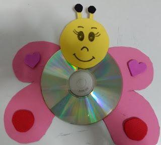 Confira 29 Atividades com CDs reciclados