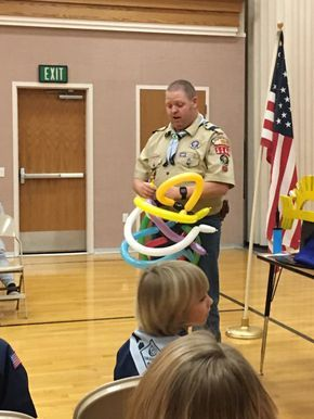 Thanks to Ryan Rawlins for donating this idea. He is the Cubmaster of Pack 1144 in the Porter Rockwell District, Utah National Parks C...