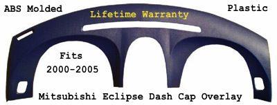 ABS Dash Cap Overlay  Fits 2000-2005 Mitsubishi Eclipse Make Your Dash Look Brand NEW Again www.DodgeDashParts.com 954-261-3042