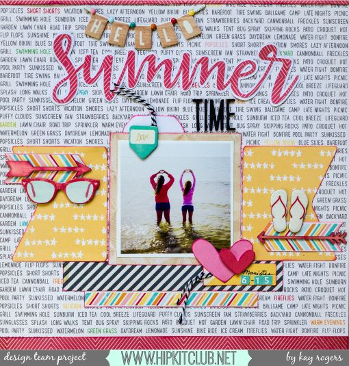 11 Great Scrapbook Ideas for Summer #scrapbook #hobbycraft