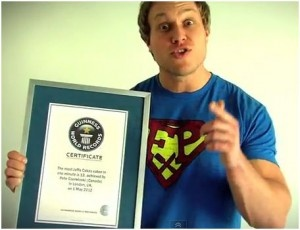 Furious Pete Sets Guinness World Records, Eats Most Jaffa Cakes
