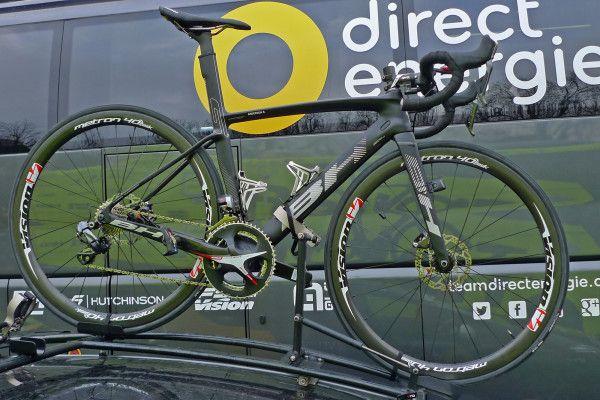 Flanders/Roubaix Tech: Disc brakes on Pro Continental Direct Énergie's BH G7 Disc