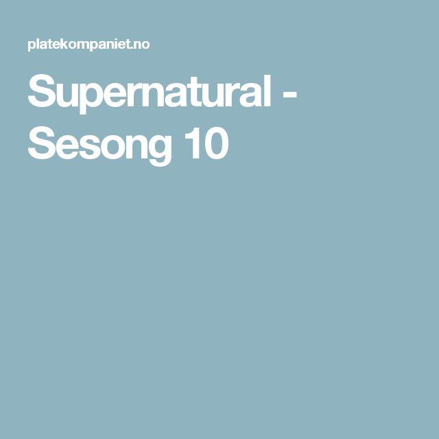 Supernatural - Sesong 10