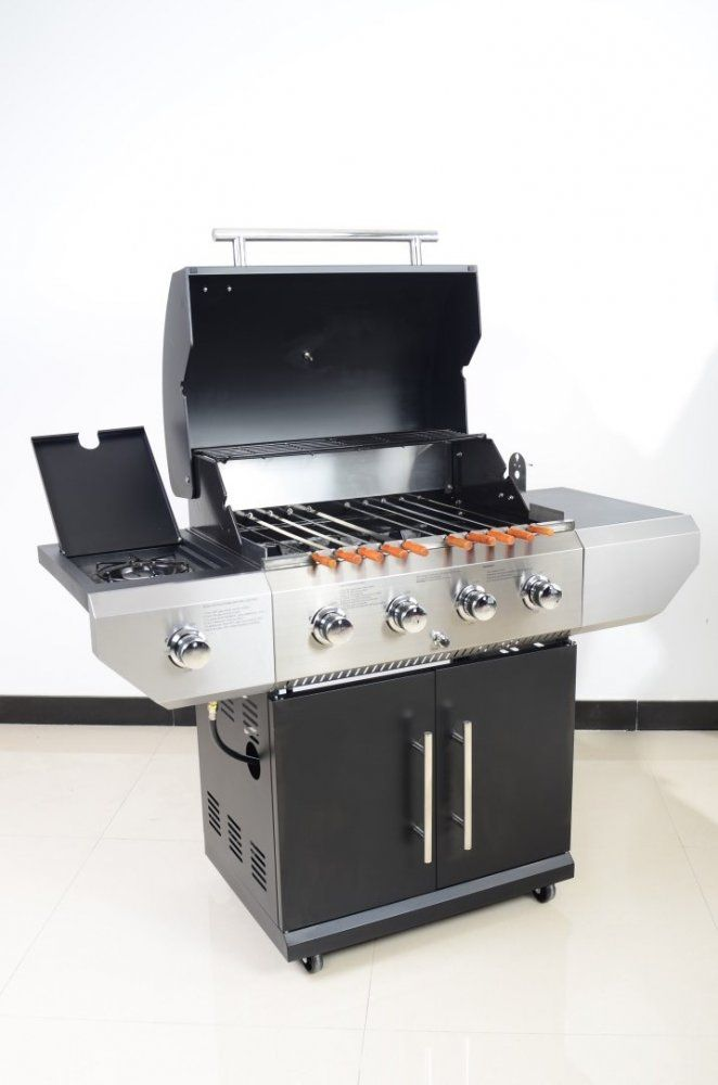 Gas Grill with Rotisserie are the tried-and-true option for cooking smoky, savoury meals time and again. Kabobeque has the best charcoal grills for sale to help you pull off that perfect backyard cookout. Get grilling today with the Gas Grill with Rotisserie from Kabobeque, USA and more. http://www.kabobeque.com/products/kabobeque-grills/gas-shish-kabob-rotisserie-grill---platinum-edition/1-40