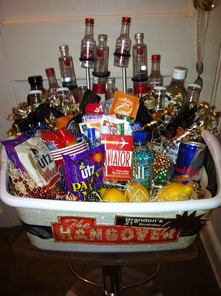 25+ unique Alcohol basket ideas on Pinterest   Wine baskets ...
