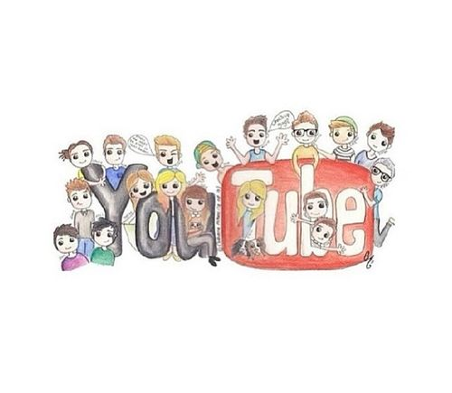 how to draw cute youtubers