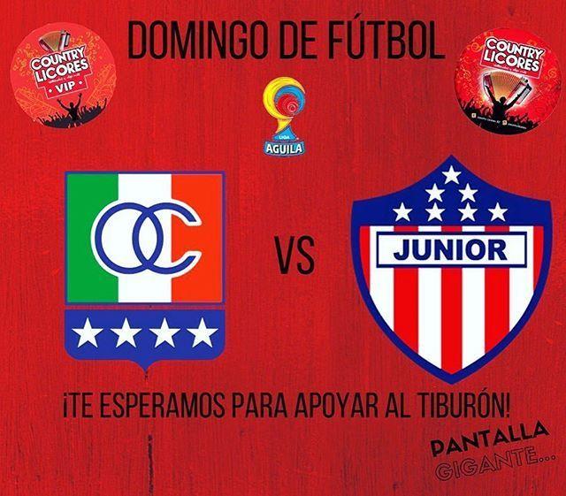 Once Caldas vs Junior en Vivo Liga Águila 2017