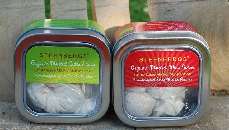 Steenbergs has launched two new #organic #mulling spices - both in hand tied muslin pouches one for mulled wine and the other designed for mulling cider. Enjoy.