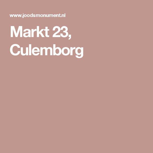 Markt 23, Culemborg